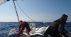 Twilight foredeck